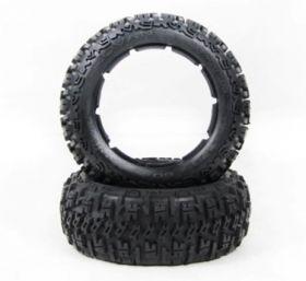 "HPI Baja 5B front small knobby ""EXCAVATOR"" tire set"