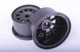 5SC Rear Wheels w/ beadlocks & screws
